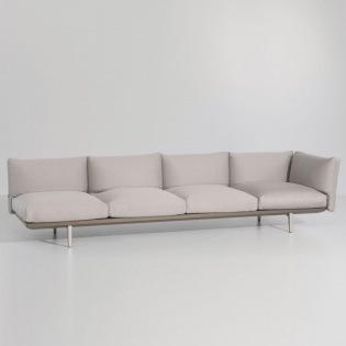 BOMA 4-Sitzer Eckelement