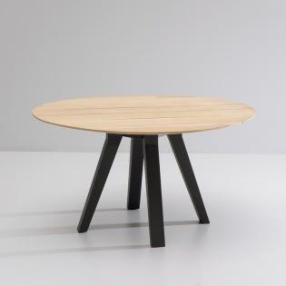 MAIA/ VIEQUES Tisch mit Teakplatte