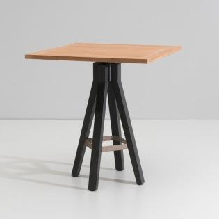 MAIA/ VIEQUES Bartisch 90x90 cm, Teakplatte