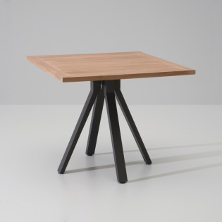 VIEQUES/ MAIA Tisch 90x90 cm, Teakplatte