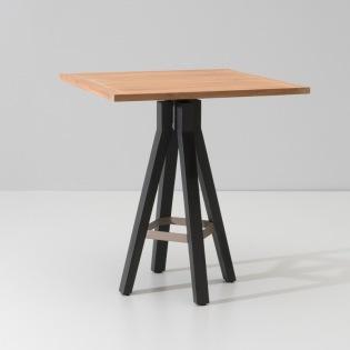 VIEQUES/ MAIA Bartisch 90x90 cm, Teakplatte